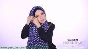 طریقه بستن روسری - مدل های حجاب 2014