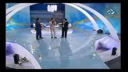 خنده دار ترین برنامه شبکه 5 با شومنی و تقلید صدای حسن ریوندی