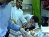 سید حسن خمینی در فوت حاج احمد خمینی