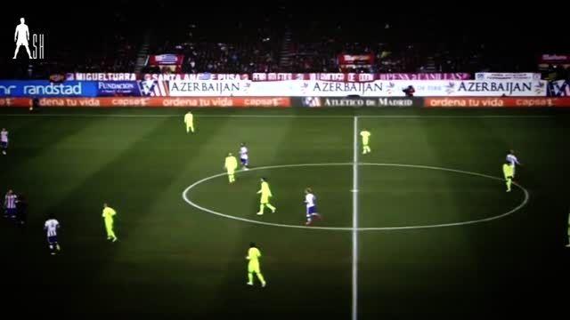 نیمار vs اتلتیکو مادرید