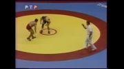 کشتی علیرضا حیدری در مسابقات جهانی 1999