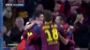 گل پدرو رودریگز به مالاگا - بارسلونا 2 - مالاگا 0