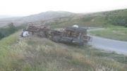تصادف گردنه ی مراوه تپه استان گلستان