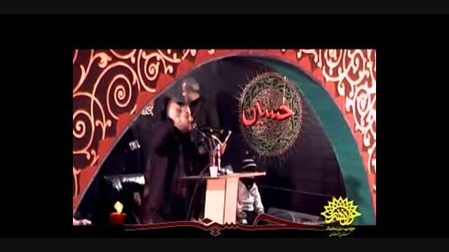 عزاداری هیئت حسینی  شهداء خرم آباد