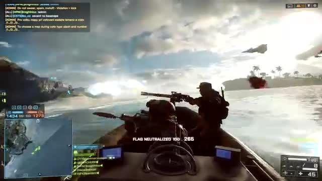 # ۲ تکاوران - نیروی دریایی - Battlefield 4