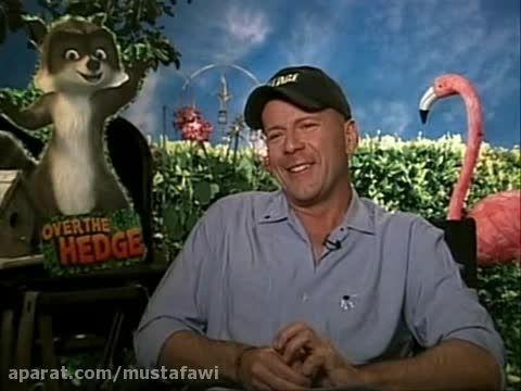 مصاحبه با بروس ویلیس درباره ی انیمیشن Over The Hedge
