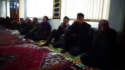سخنرانی حاج آقا مرسلی در حسینیه مهربان برادران قوسی
