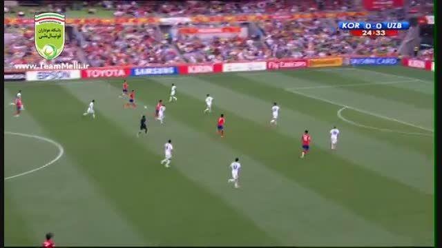 کره جنوبی 2 - 0 ازبکستان (جام ملت های آسیا 2015)