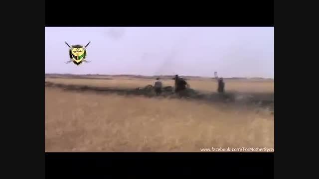 رکب شجاعانه ی  سربازان سوری به تروریست ها
