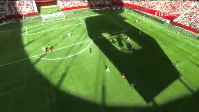 بازی : سوئیس 0 - 1 کانادا (جام جهانی زنان 2015 کانادا)