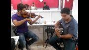 گیتار و ویولون