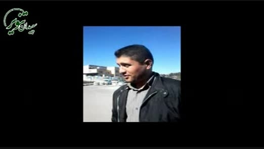 آخرین تصاویر قبل از شهادت شهید محمد صاحبکرم مدافع حرم
