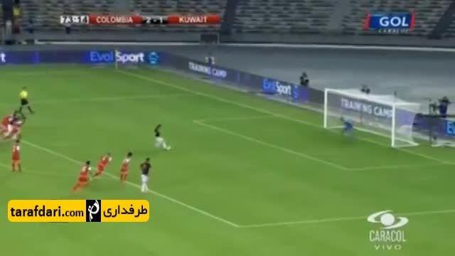 گلزنی فالکائو برای کلمبیا (کویت 1-3 کلمبیا)