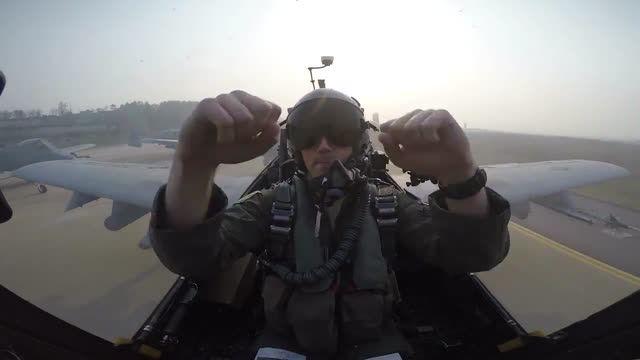 پرواز دیدنی با A-10-بسیار بسیار دیدنی