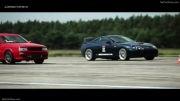 درگ برترین خودرو ها در آلمان  - Race at Gross Dolln Germany