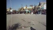شبیه خوانی عباس خوان میدان جنگ سال 92 در بیله سوار مغان2