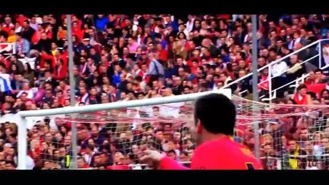 حرکات برتر و دیدنی لیونل مسی 2015