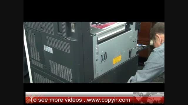 تعویض برد لیزر و سرویس لیزر دستگاه کونیکا مینولتا 552