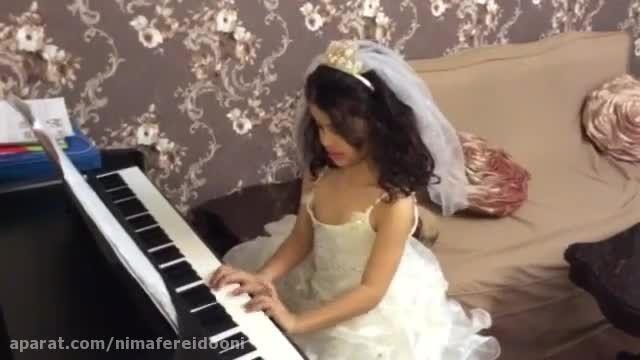چک چک باران،گلشید دادفر،هنرجو پیانوابتدایی مرجان کاشف،آ