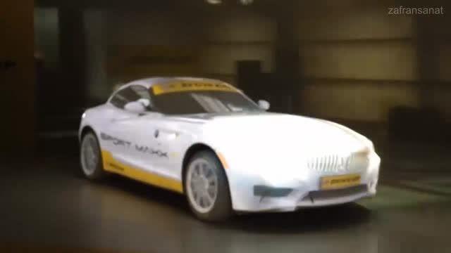 نور پردازی سه بعدی زیبای BMW Z4