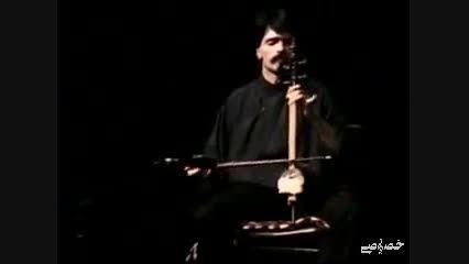 قطعه ای کوتاه و قدیمی از کمانچه نوازی کیهان کلهر