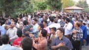 مراسم وداع با شهیدگمنام در شهرستان ملارد - ورود شهید به پارک