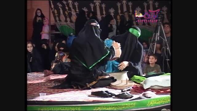 تعزیه حضرت زهرا شستن لباس-شاهکار سید حسن گلختمی