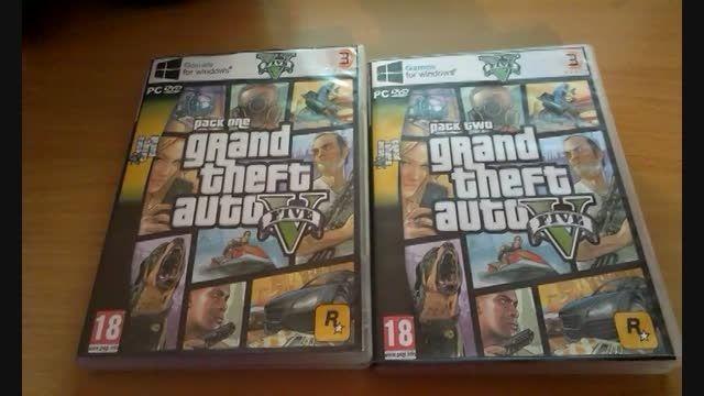 آنباکسینگ GTA V برای PC
