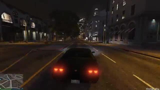 بازی GTA V در لب تاب ASUS N550JK