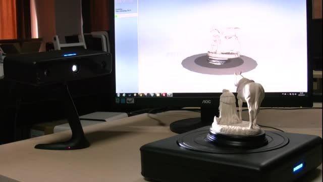 اسکنر سه بعدی دسکتاپ