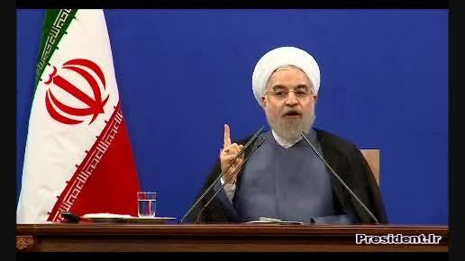 نشست خبری جنجالی دکتر روحانی با خبرنگاران داخلی و خارجی