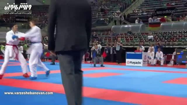 بهترین بازی مسابقه کومیته کاراته ایران و اسپانیا
