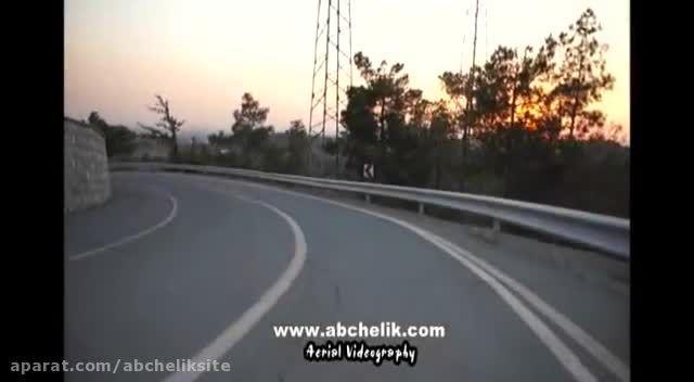 هلی شات هلی کم تصویربرداری هوایی در پارک جنگلی چیتگر