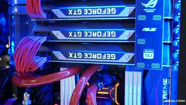 تست کارایی Titan X در حالت 3Way SLI در دقت 4K
