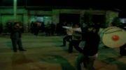 دسته روی هیئت ابوالفضل عباس (ع) سرخ کلا در بالا محله سرخ کلا