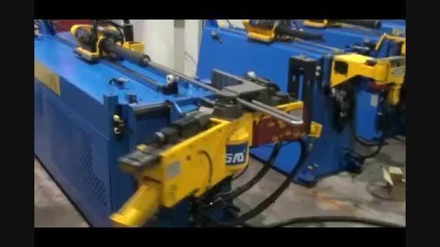 خم زیگزاگ لوله توسط لوله خمکن CNC مدل 25 TDRE