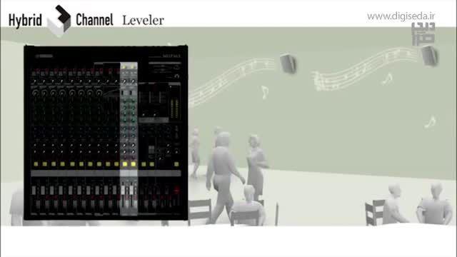 میکسر یاماها Yamaha MGP series - Hybrid Channel Leveler
