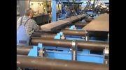خط تولید تیرهای فولادی