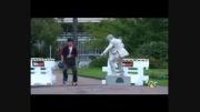 دوربین مخفی مجسمه -  خنده دار و جالب