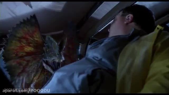 سکانسی بسیار جالب از فیلم پارک ژوراسیک (Jurassic Park)