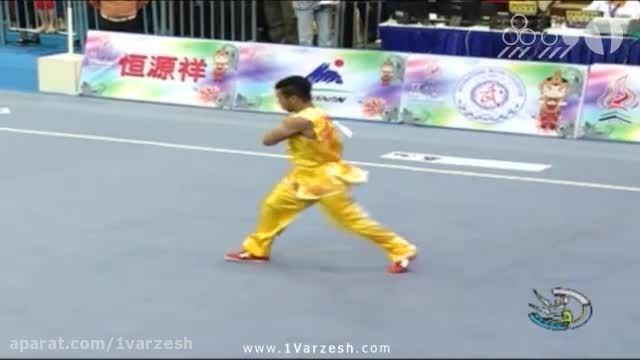 فرشاد عربی مدال نقره ووشوی قهرمانی جهان را کسب کرد