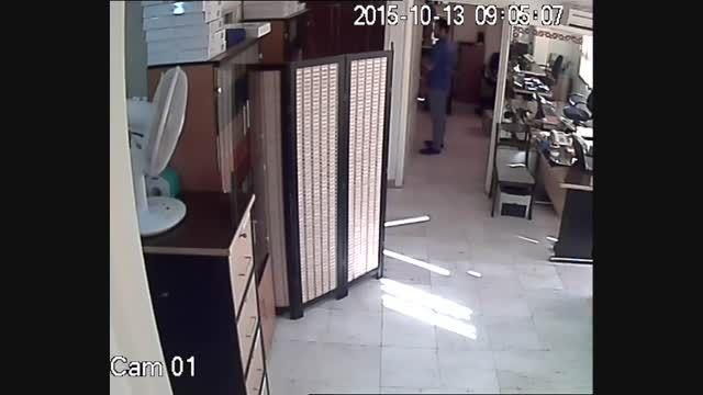 نمونه تصویر ضبط شده دوربین مداربسته FL-1522 در روز