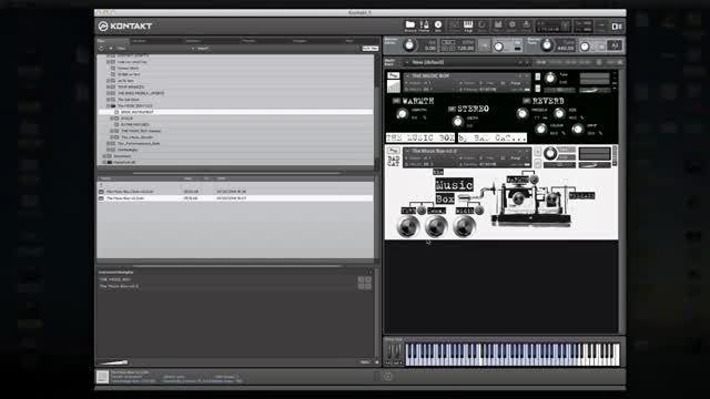 ویدئو آموزشی وی اس تی (جعبه موسیقی) 8Dio Music Box