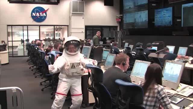 ناسا والوپس هارلم لرزش
