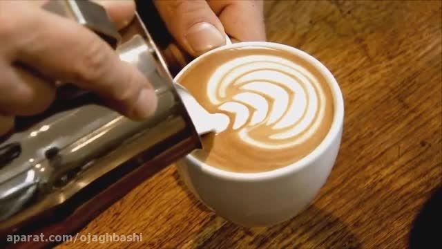 تزیین قهوه لاته (بخش اول)