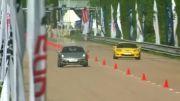 درگ Corvette Z06 vs ZL1 vs Shelby GT500 vs Esprit vs Porsche 911