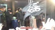 مداحی روح الله بهمنی و حسین سیب سرخی در بدرقه فاطمه(س)93