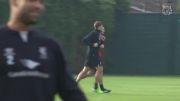 2014 10 31 - نیوکاسل - لیورپول | تمرین 1 پیش از بازی