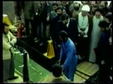 مهندس موسوی ، به آب انداختن اولین کشتی جمهوری اسلامی ایران توسط موسوی