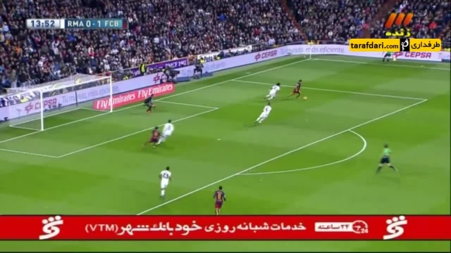 خلاصه بازی رئال مادرید 0-4 بارسلونا